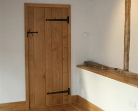 Internal Oak Plank Doors