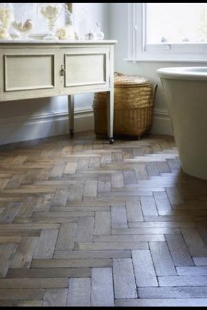 Original Vintage Parquet Flooring