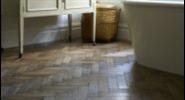 Original Vintage Oak Parquet Flooring