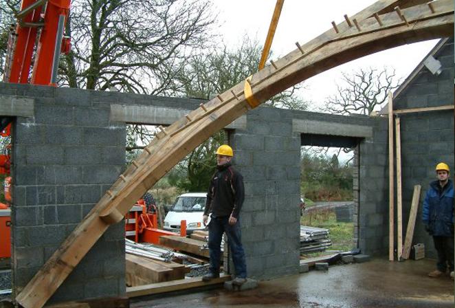 Oak Frames Amp Roofs Roof Design By Broadleaf Timber