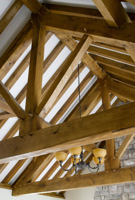 Oak Frames Amp Roofs Roof Design By Broadleaf Timber