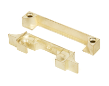 "Polished Brass 1/2"" Rebate Kit - Heavy Duty Mortice Latch or..."