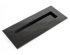 Black Small Letterplate