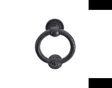 Black 4'' Ring Door Knocker