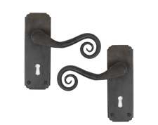 Beeswax Monkeytail Lever Lock Set
