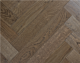 Dark Oak Parquet Flooring