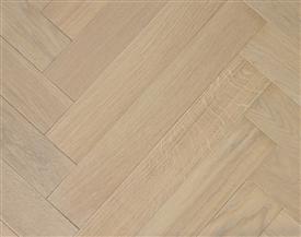 Whitewashed Oak Parquet Flooring