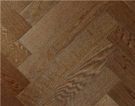 Polished Oak Parquet Flooring