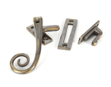 Antique Brass Monkeytail Fastener