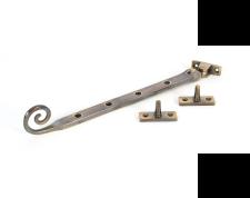 "Antique Brass 10"" Monkeytail Stay"
