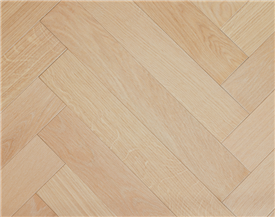 Bleached Oak Parquet Flooring