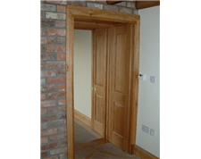 Handbuilt Solid Oak Doors