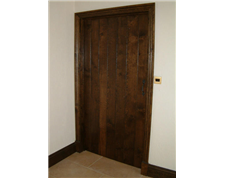 Bespoke Internal Oak Plank Doors