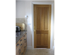 Panelled Oak Fire Doors