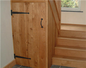 Oak Plank Cupboard Doors