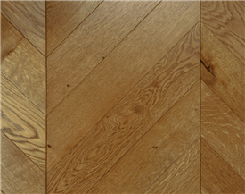 Aged Oak Chevron Flooring