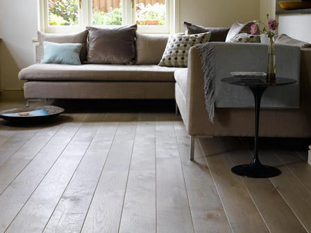Washed Grey Oak Flooring