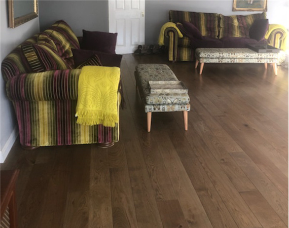 Worn Oak Flooring