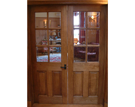 doors internal oak panelled doors half glazed internal oak door