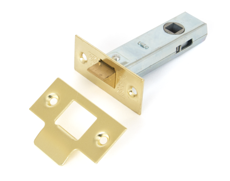 Brass 3'' Tubular Mortice Latch
