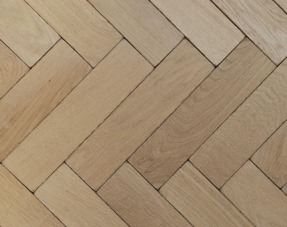 Soaped Vintage Oak Parquet Flooring