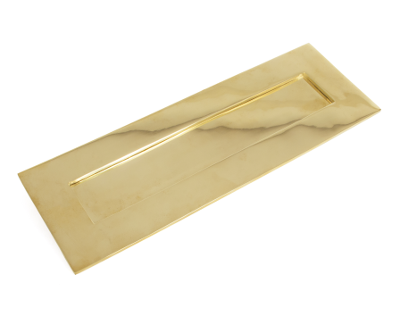 Polished Brass Letterplate - Large