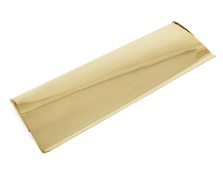 Polished Brass Letterplate Cover - Large