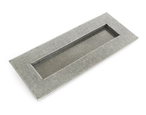 Pewter Small Letterplate