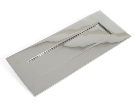 Small Letterplate - Polished Chrome