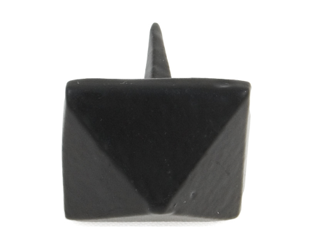 Black Pyramid Door Stud - Large