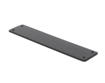 Black Plain Fingerplate
