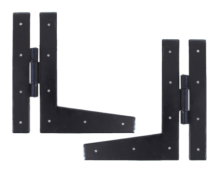 Black 9'' HL Hinge (pair)