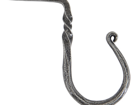 Pewter Cup Hook - Medium