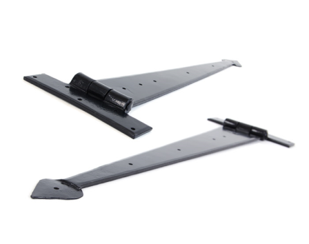 Black 22'' Arrow Head T Hinge (pair)