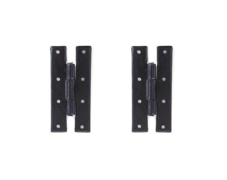 Black 4'' H Hinge (pair)