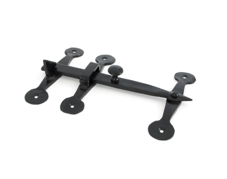 Black Oxford Privacy Latch Set