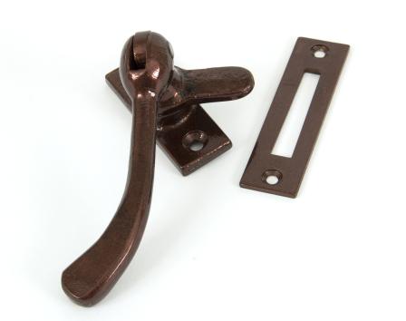 Bronze Handmade Peardrop Fastener