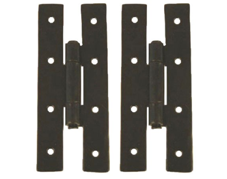 Black 3 1/4'' H Hinge (pair)