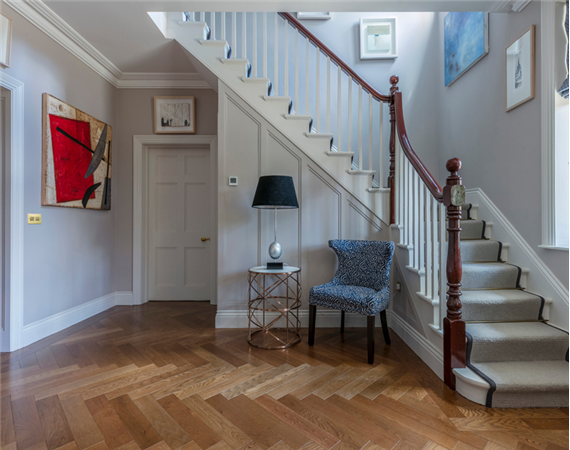 Rich Oak Parquet Flooring