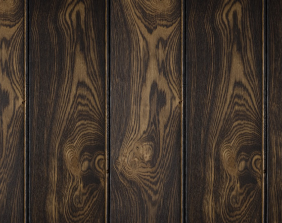 Dark Brushed & Burned Door Ageing