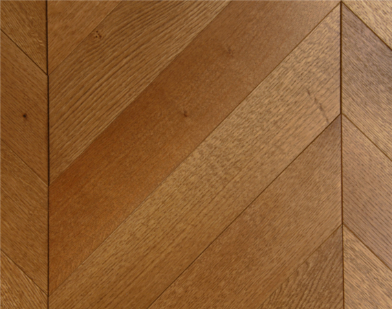 Rich Oak Chevron Flooring