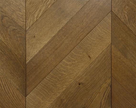 Worn Oak Chevron Flooring