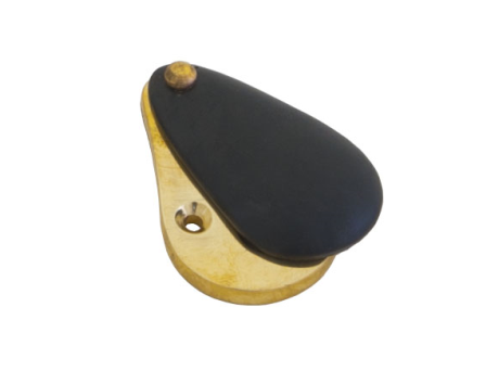 Ebony Plain Escutcheon