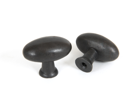 Oval Cabinet Knob - Beeswax