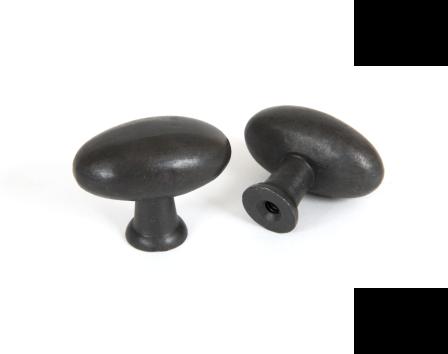 Oval Cabinet Knob - Beeswax