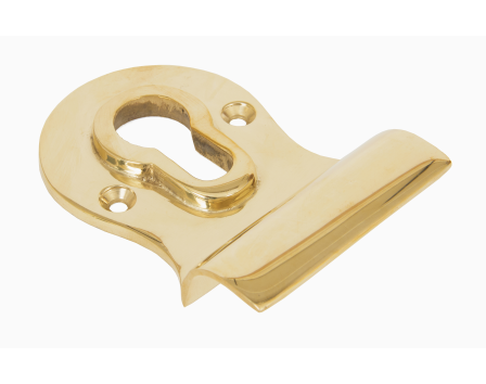 Polished Brass Euro Door Pull