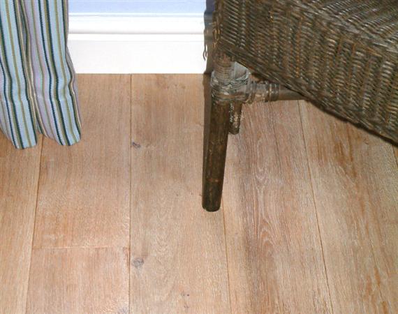 Brushed & Limed Oak Flooring
