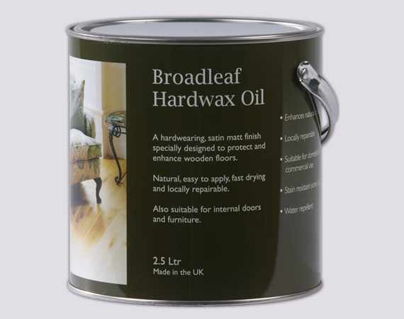 Broadleaf Rich Hardwax Oil
