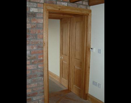 Handbuilt Solid Oak Doors