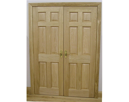 6 Panel Internal Oak Door
